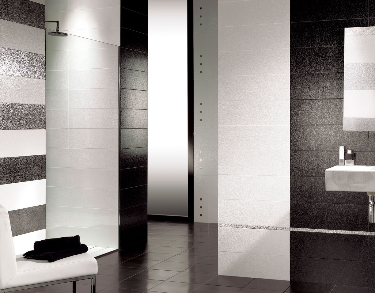 AMB GRETA WALL BLACK WHITE 20x60 cabec