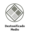 destonificado medio