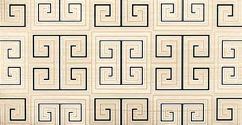 TABRIZ WALL BEIGE DECOR GRECA 30,3x60,5